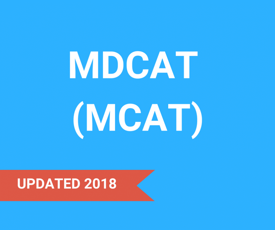 MDCAT (MCAT)
