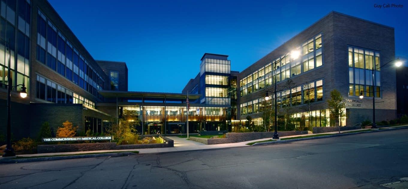 Geisinger Commonwealth School of Medical Science campus view